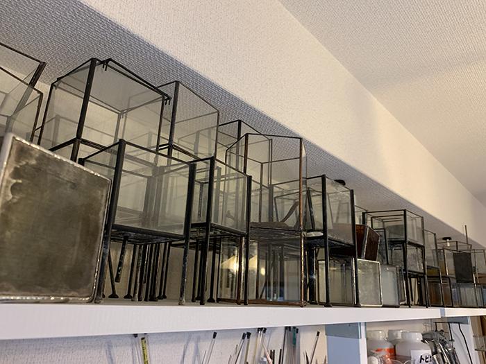 ステンドグラス テラリウム